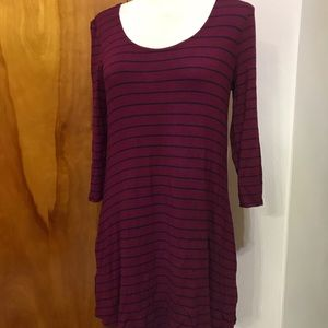 Maurices long sleeve tunic T-shirt with pockets